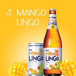 「甘い」MANGO RINGOを一杯!<br> 韓国をメロメロにする個性的な酒類 <br> HITE MANGO RINGO
