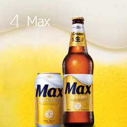 Cream draft all malt beer <br>with a rich flavor developed <br>based on 12 years of experience!