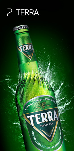 Clean lager, TERRA <br>to revolutionize the times