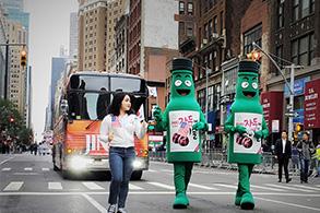 하이트진로, 美 주요도시 돌며 신제품 '자두에이슬' 홍보투어