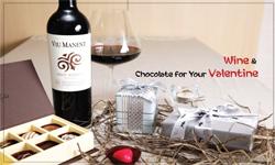 발렌타인데이 필수아이템, 초콜릿 & 와인