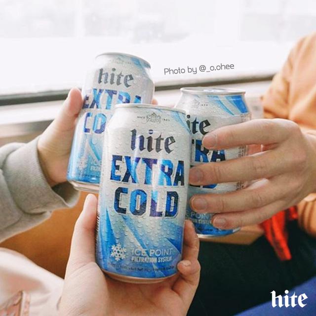 시원한 #하이트 한 캔 마시며 술술 풀리는 겨울