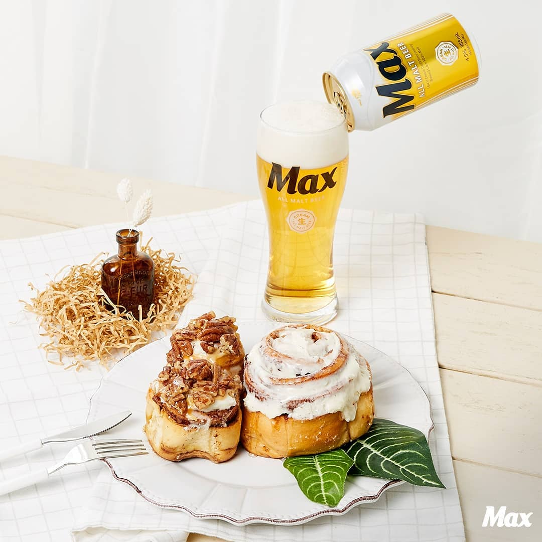 맛있는 맥주 #맥스 와 함께 하는 순간처럼 달콤해!🧡
