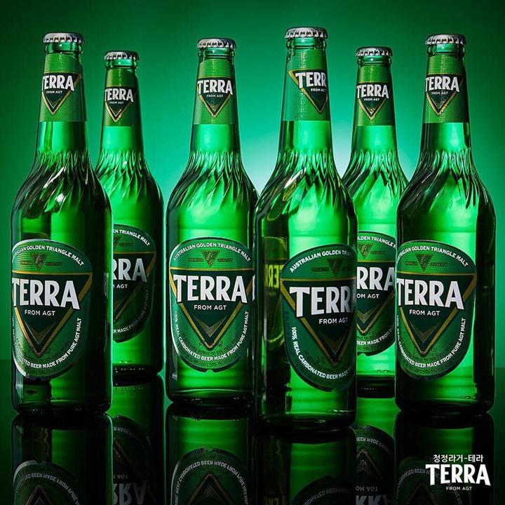 국내 레귤러 라거 최초 Green Bottle, 테라