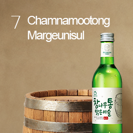 Alcohol aged in wooden barrel meets morning dew <br> for the delicate aroma and flavor