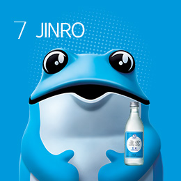JINRO is back! <br> An original Soju, JINRO is back.