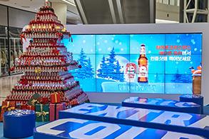 하이트진로, 크리스마스 에디션 캔트리 인기