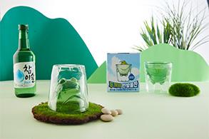 하이트진로, 한방울잔 2탄 '두꺼비 한방울잔' 한정 판매