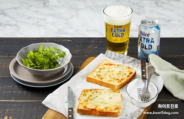 토스트의 신세계! <br> 에어프라이어로 만드는 초간단 대파 토스트 레시피